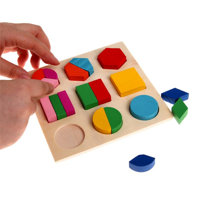 Kid's Wooden Geometry Toys GYOBY® TOYS