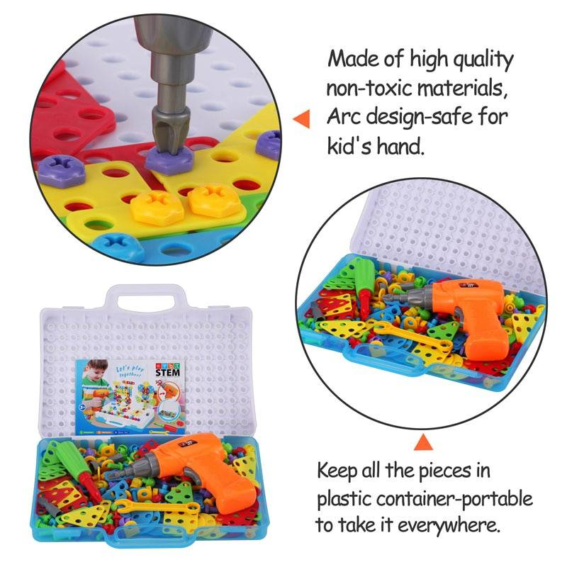 Creative Mosaic Puzzle Toys Building Blocks GYOBY® TOYS
