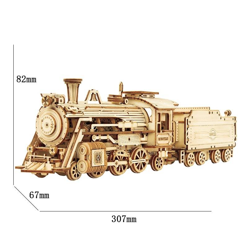 Transportation Model 3D Wooden Puzzle Kit Toys GYOBY® TOYS