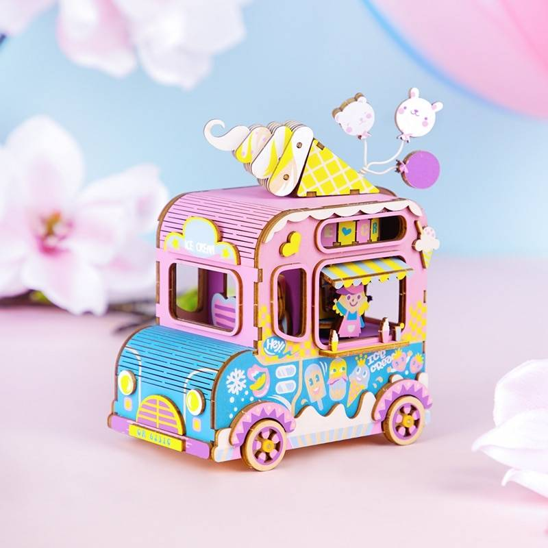 Colorful Music Box 3D Wooden Puzzle Kit Toys GYOBY® TOYS