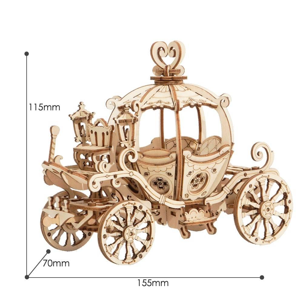 Pumpkin Cart 3D Wooden Puzzle Kit Toys GYOBY® TOYS