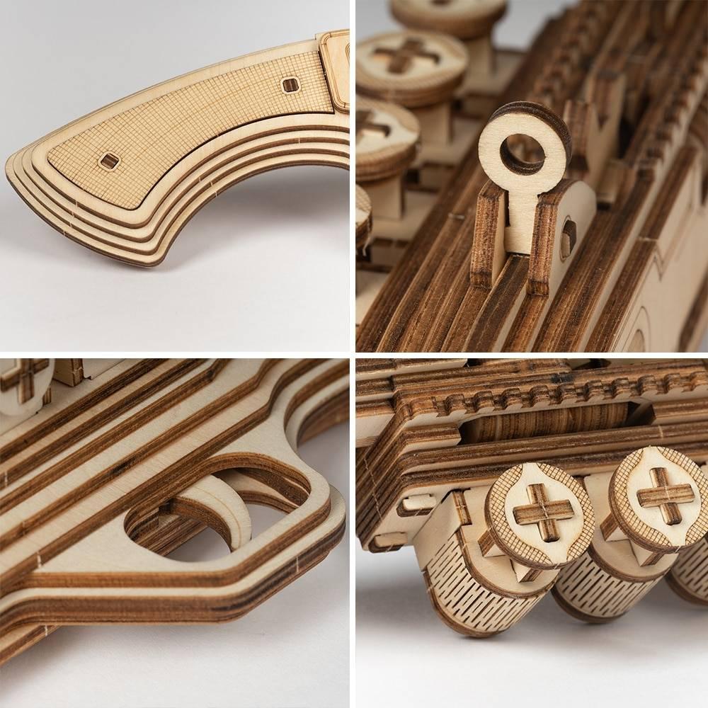Gun Blocks 3D Wooden Puzzle Kit Toys GYOBY® TOYS