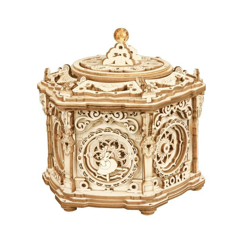Rokr Music Box 3D Wooden Puzzle Kit Toys GYOBY® TOYS