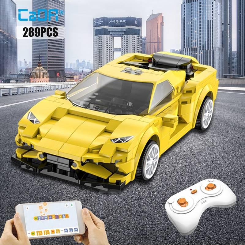 APP Programming RC Sports Car Model Building Blocks GYOBY® TOYS
