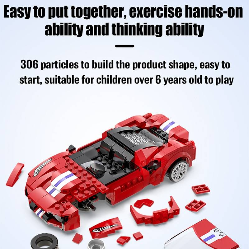 RC Racing Car Model Building Blocks Toys for Kids GYOBY® TOYS