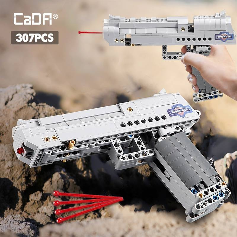Desert Eagle Pistol Building Blocks Toy GYOBY® TOYS