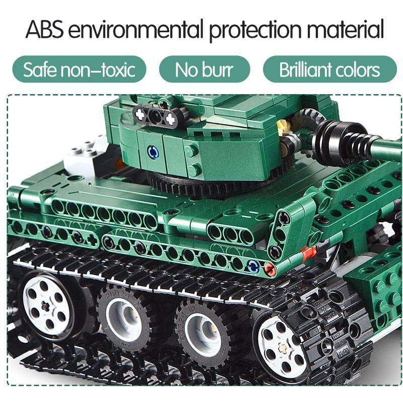 Military RC Tiger 1 Tanks DIY Model Building Blocks Toy GYOBY® TOYS