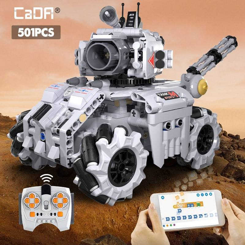 Military RC STORM Tank Building Blocks Toy GYOBY® TOYS