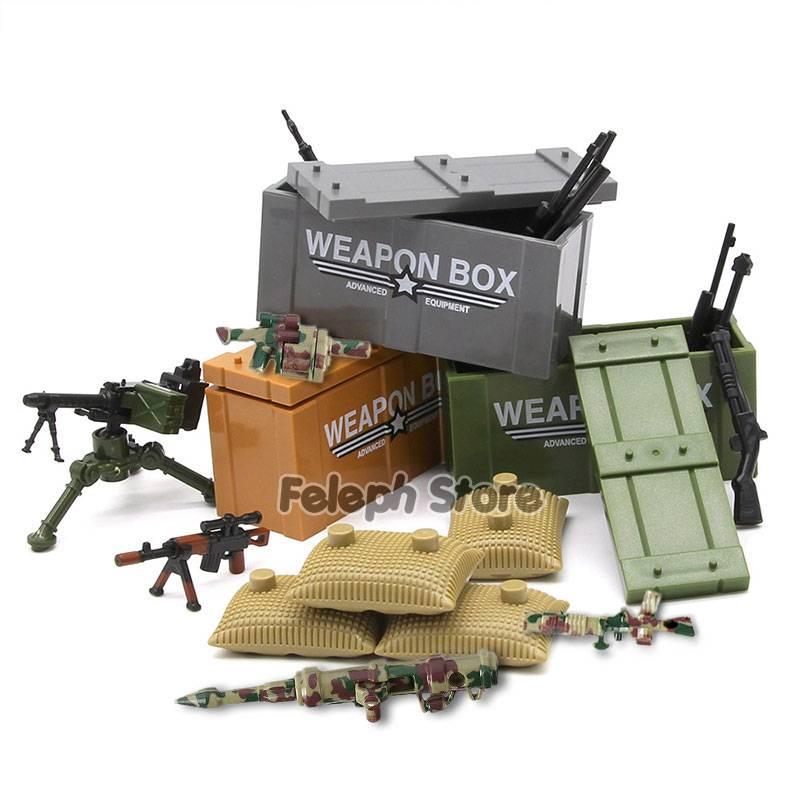 Sandbag Laptop Armor Camouflage Building Blocks Toy GYOBY® TOYS