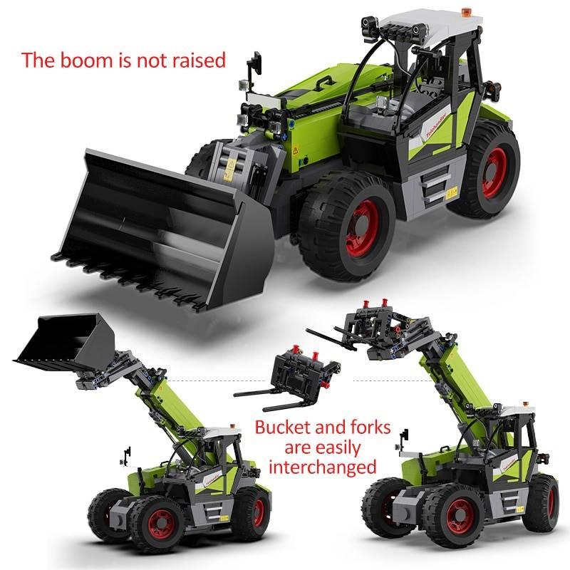 RC Multifunctional loading truck DIY Model Building Blocks Toy GYOBY® TOYS