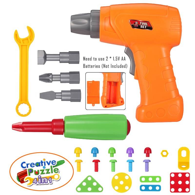 Electric Drill Screw Disassembly Creative Puzzle Toy GYOBY® TOYS