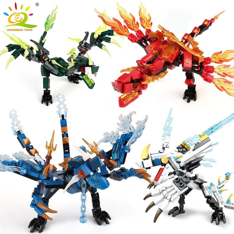 Fire Dragon Knight Model Building Blocks Toy GYOBY® TOYS