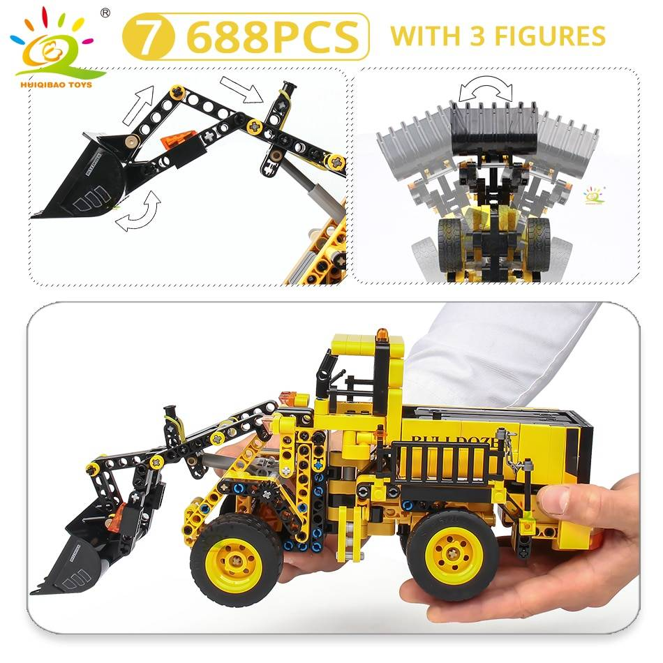 Construction Machine Model Building Blocks Toy GYOBY® TOYS