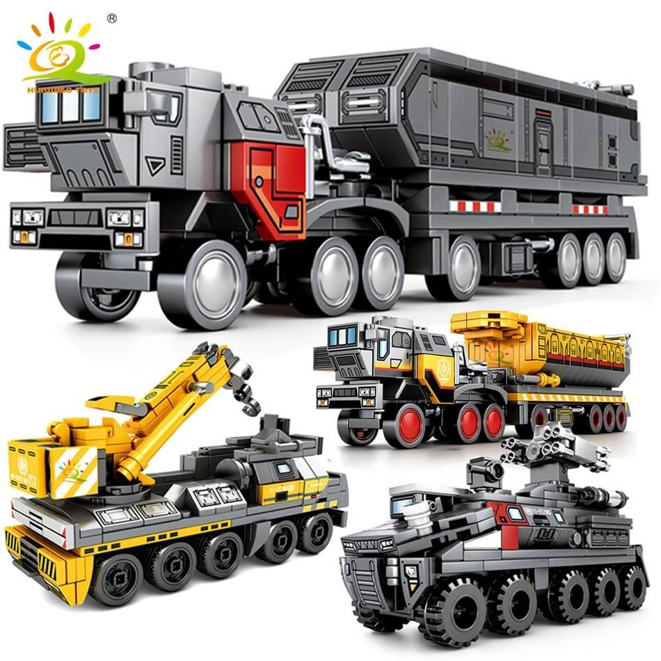 Movie Wandering Earth Trucks Building Blocks Toy GYOBY® TOYS