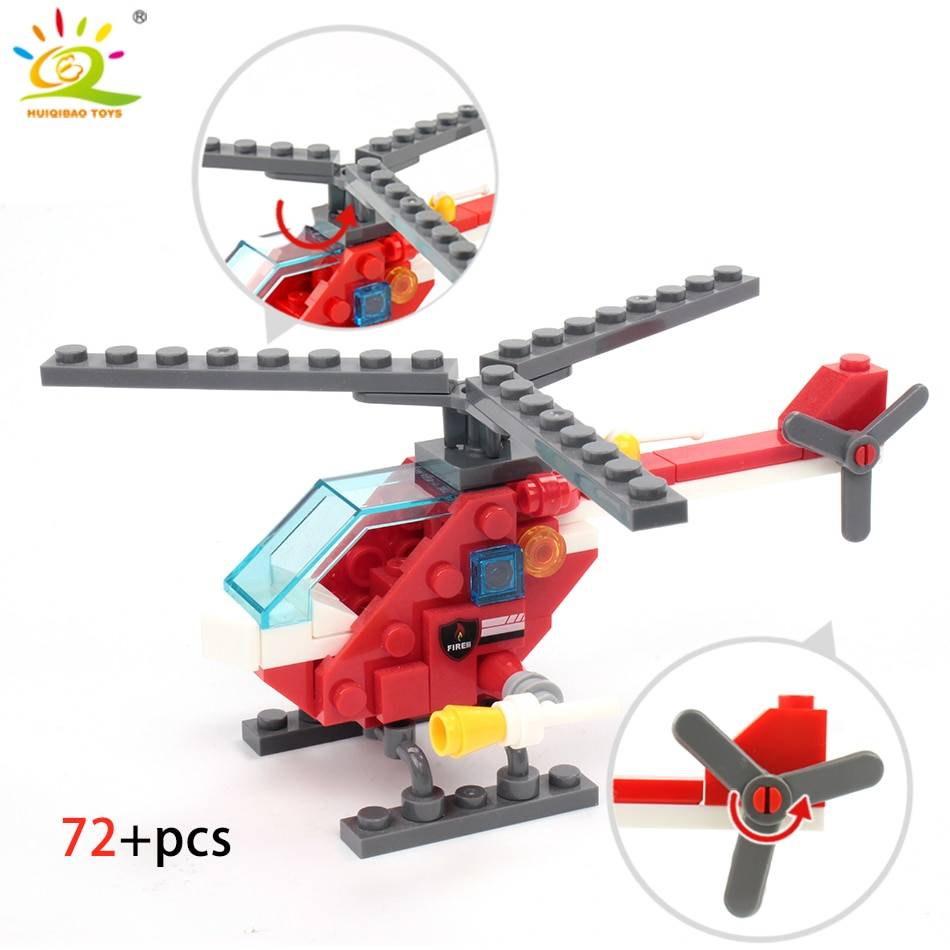 Fire Fighting 4 in 1 Building Blocks Toy GYOBY® TOYS