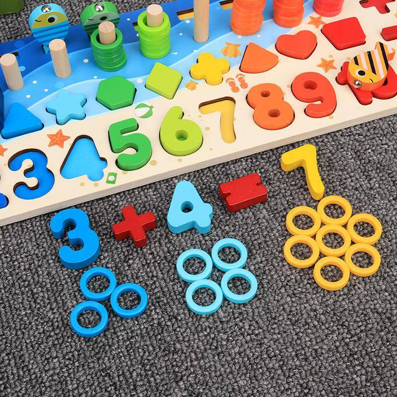 12 Variations Multi-function Wooden Educational Board Toy GYOBY® TOYS