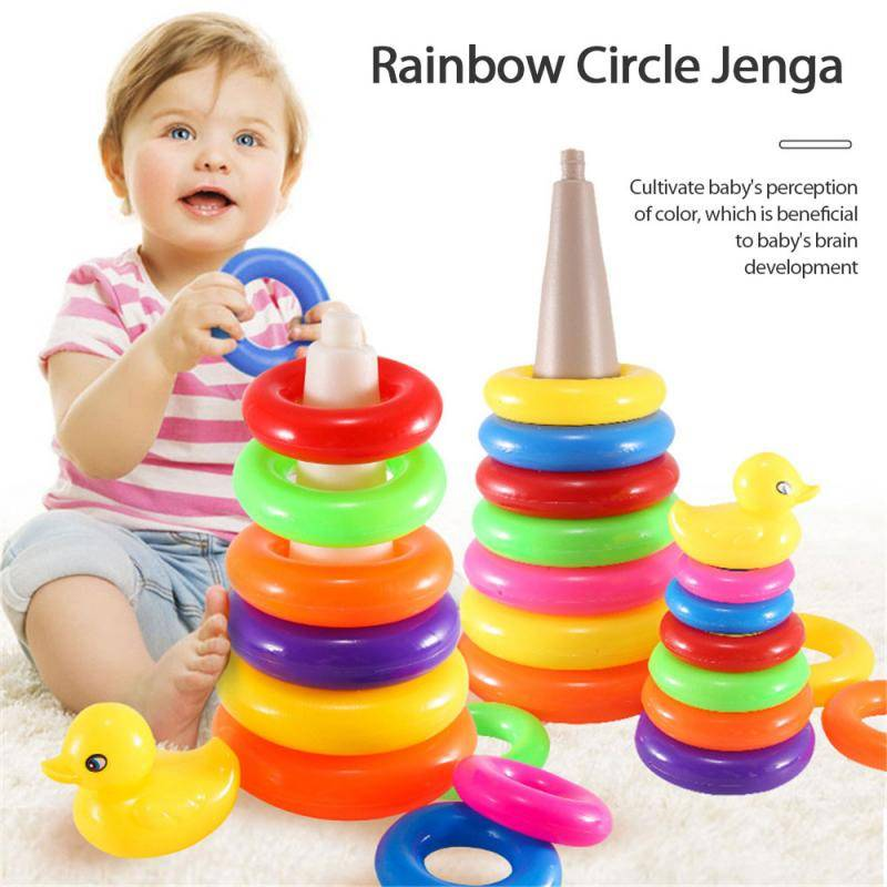 Rainbow Stacking Rings Baby Toy GYOBY® TOYS