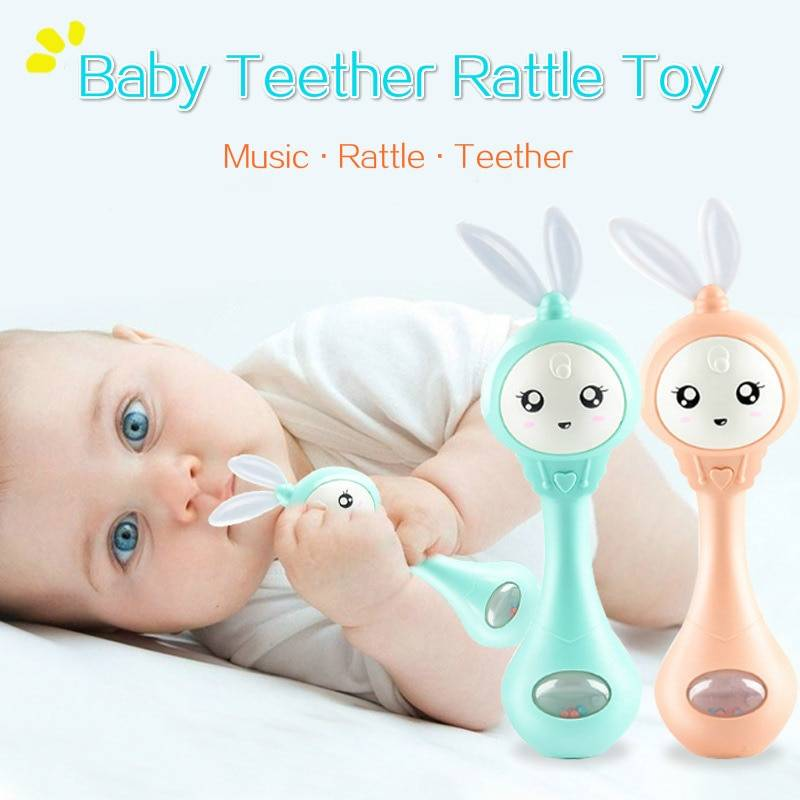 Music Rabbit Baby Rattle Toy GYOBY® TOYS