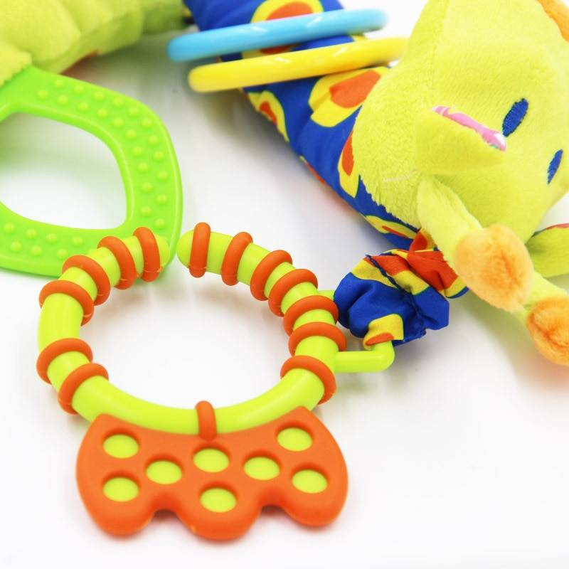 Soft Giraffe Animal Baby Rattle and Plush Toy GYOBY® TOYS