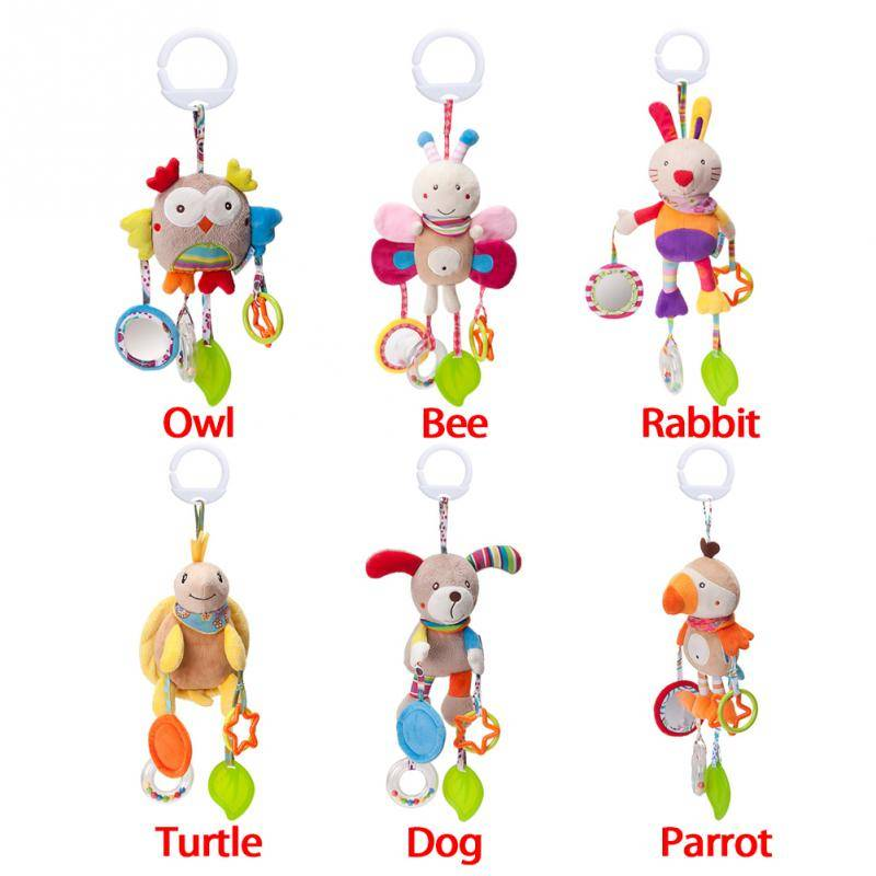 Cartoon Hanging Rattle Baby Toy GYOBY® TOYS