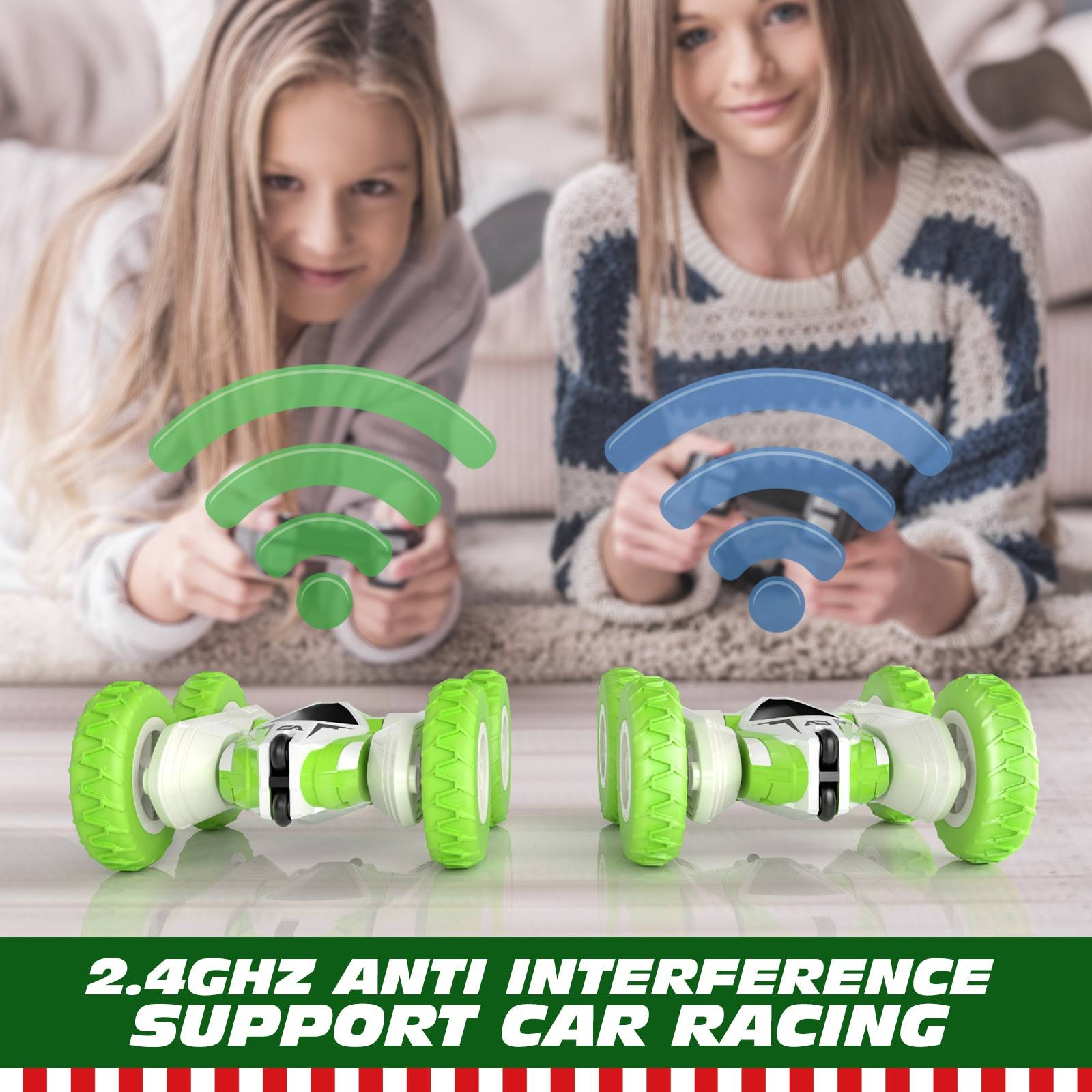 4CH 2.4G Remote Control Support Car Racing GYOBY® TOYS