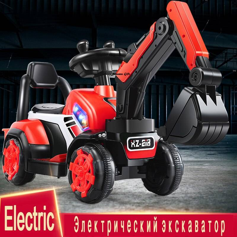 Electric Excavator Ride On Car Toy For Child GYOBY® TOYS