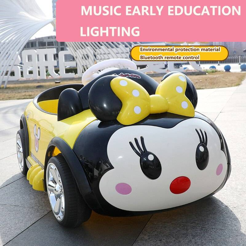 Cartoon Electric Ride On Car Toy For Children GYOBY® TOYS