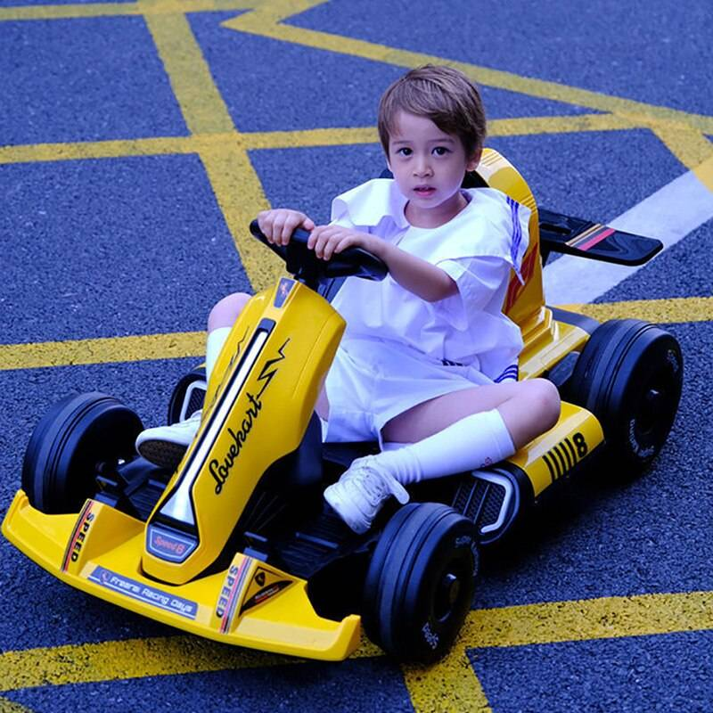 Four-Wheel Ride On Electric Racing Kart Car Toy GYOBY® TOYS