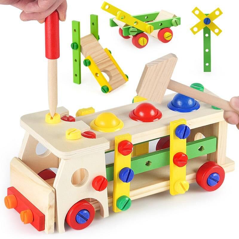DIY Wooden Car Creative Building Blocks Toy GYOBY® TOYS