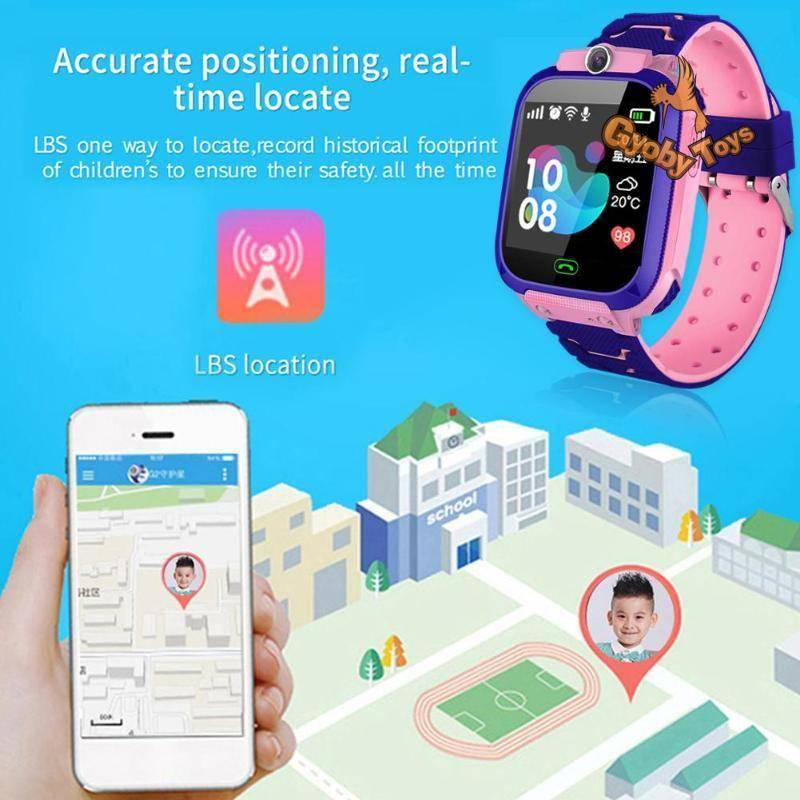 Kids Smart Watch with SIM and LBS Positioning GYOBY® TOYS