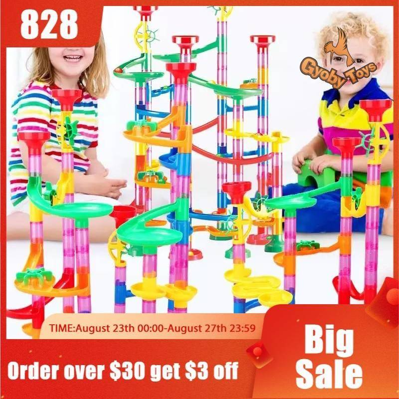 DIY Marble Balls Building Blocks Toy for Kids GYOBY® TOYS