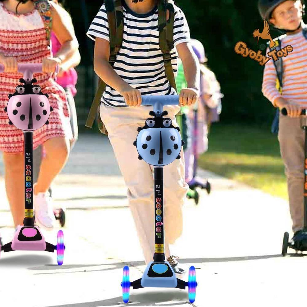 Unisex Adjustable Foot Scooter for Kids Toy GYOBY® TOYS