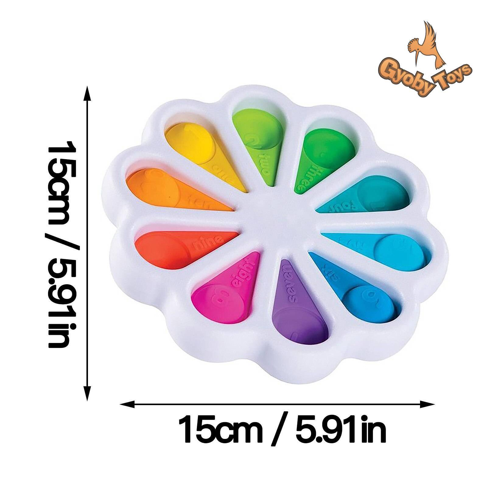 Simple Dimpl Digits Fidget Toy GYOBY® TOYS
