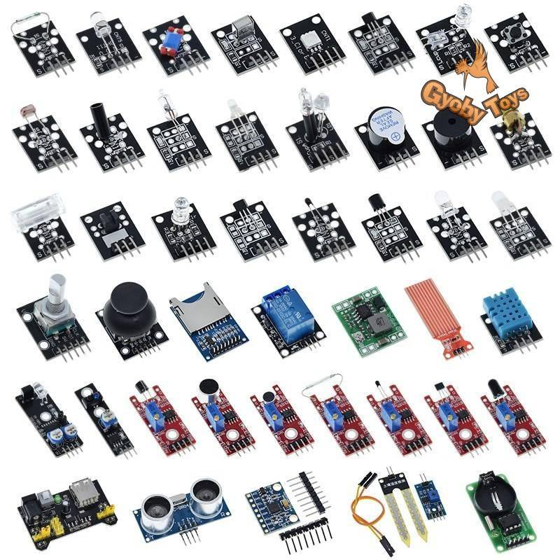 Sensors for Arduino UNO R3 GYOBY® TOYS
