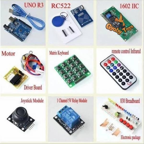 Upgraded RFID Starter Kit for Arduino UNO R3 GYOBY® TOYS