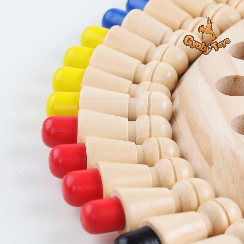 Wooden Memory Match Stick Chess Toy GYOBY® TOYS