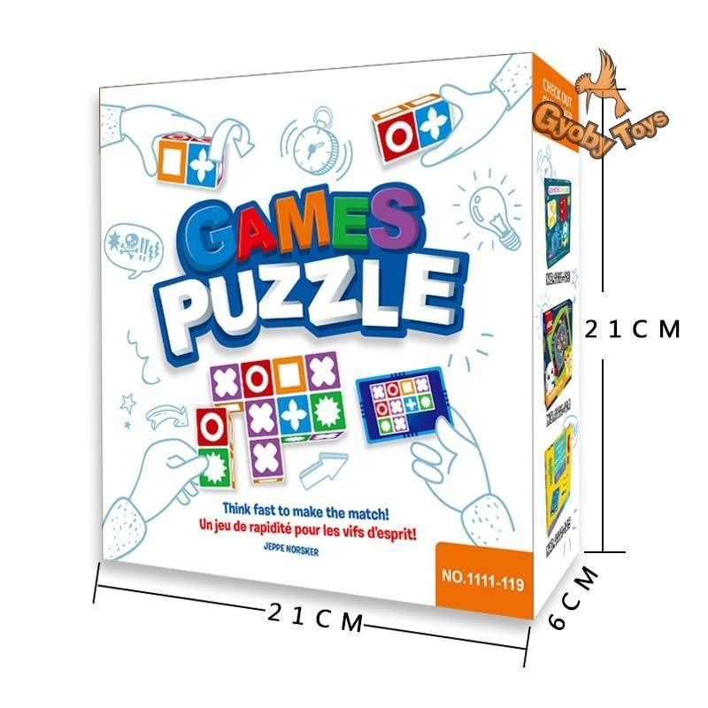 Matching Puzzle Game Toy for Kids GYOBY® TOYS