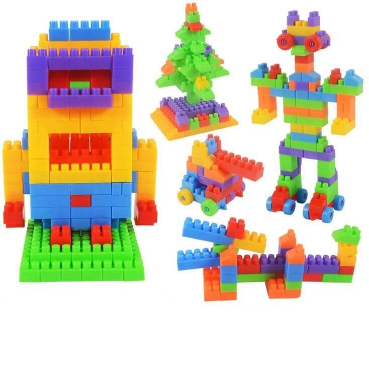 104pcs Large Building Blocks for Kids