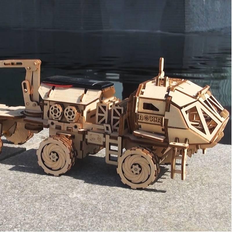 ROKR DIY 3D Wooden Puzzle Kits Toy