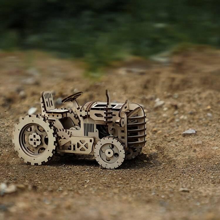 DIY Mechanical 3D Wooden Puzzle Kit Toys