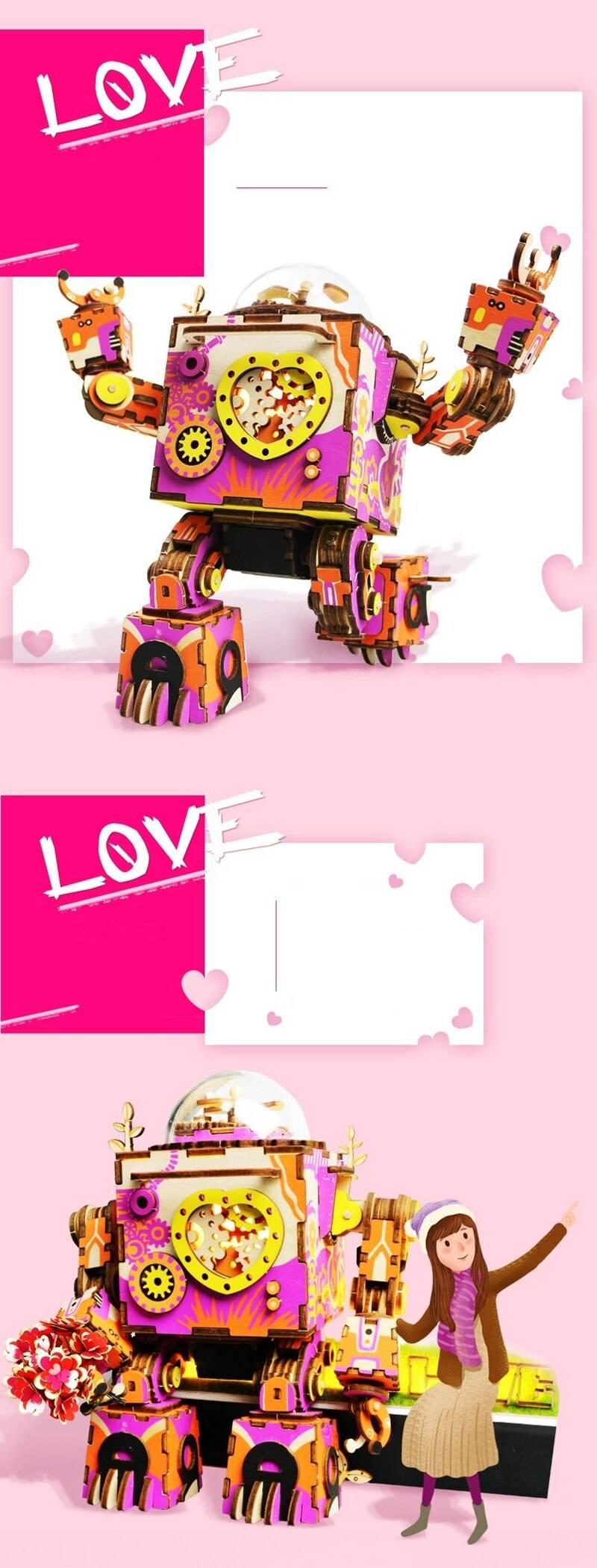 Robotime 3D Wooden Puzzle Kit Toys