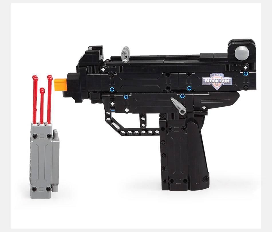 Desert Eagle Pistol Building Blocks Toy