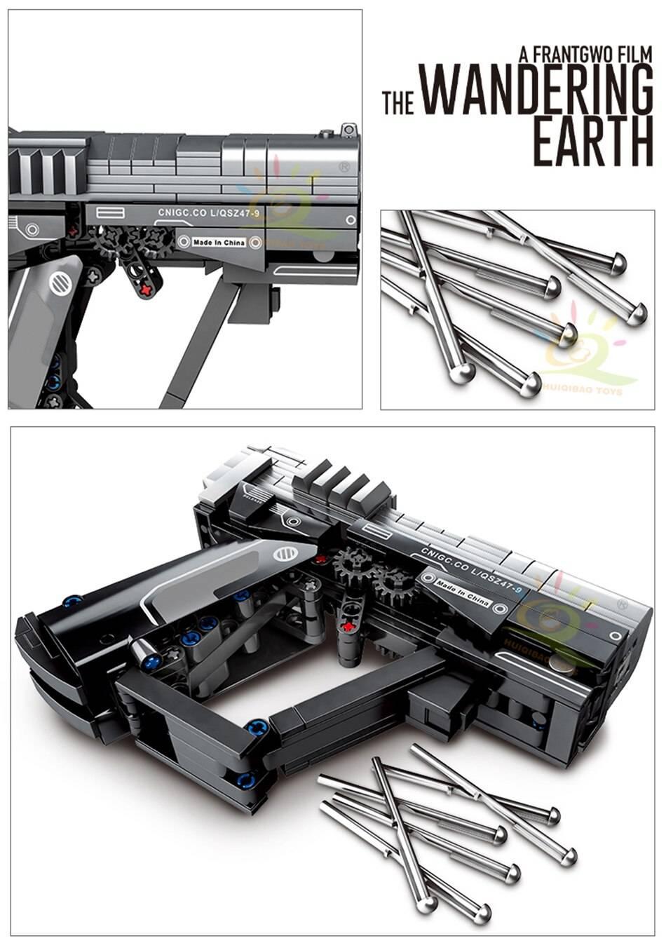 Wandering Earth Signal Gun Building Blocks Toy
