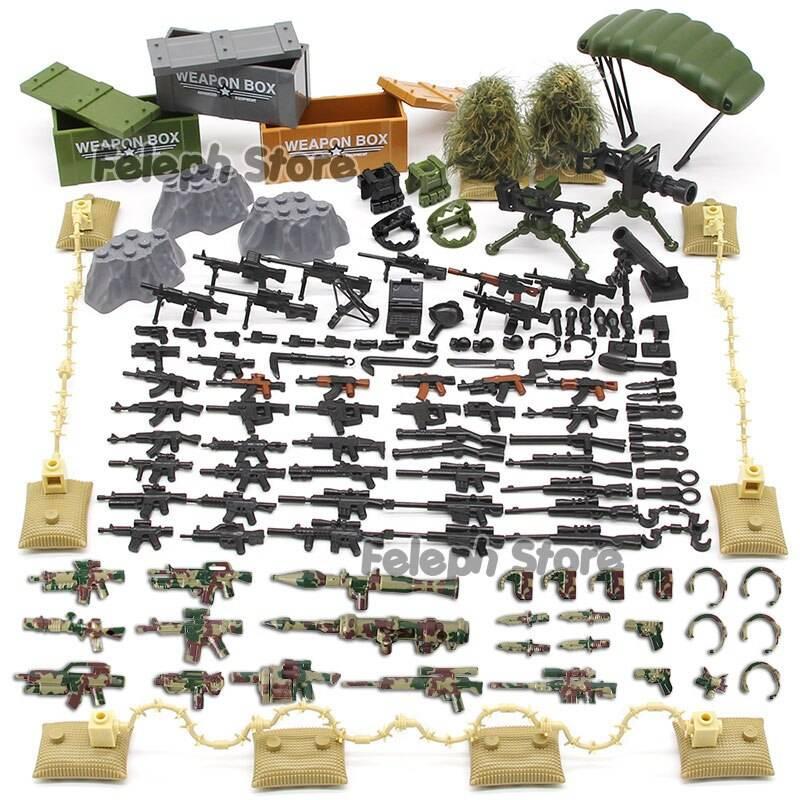 Sandbag Laptop Armor Camouflage Building Blocks Toy