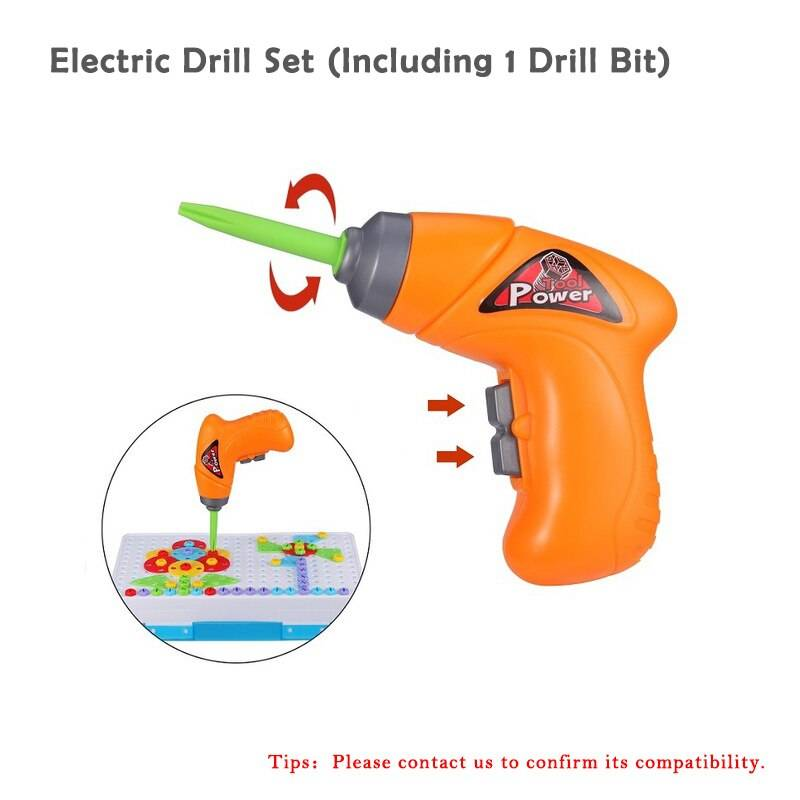 Electric Drill Screw Disassembly Creative Puzzle Toy