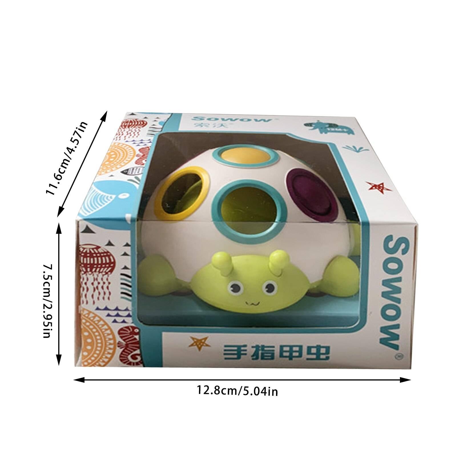 Turtle Baby Sensory Toy