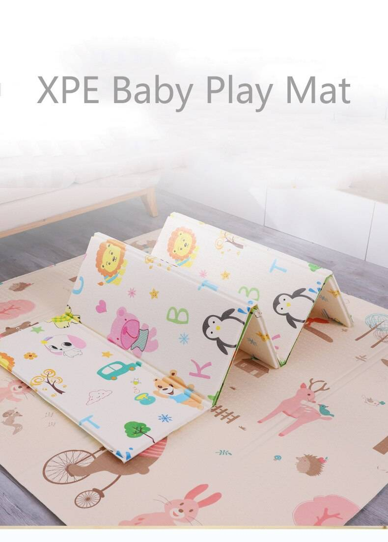 Double Surface XPE Baby Care Play Mat