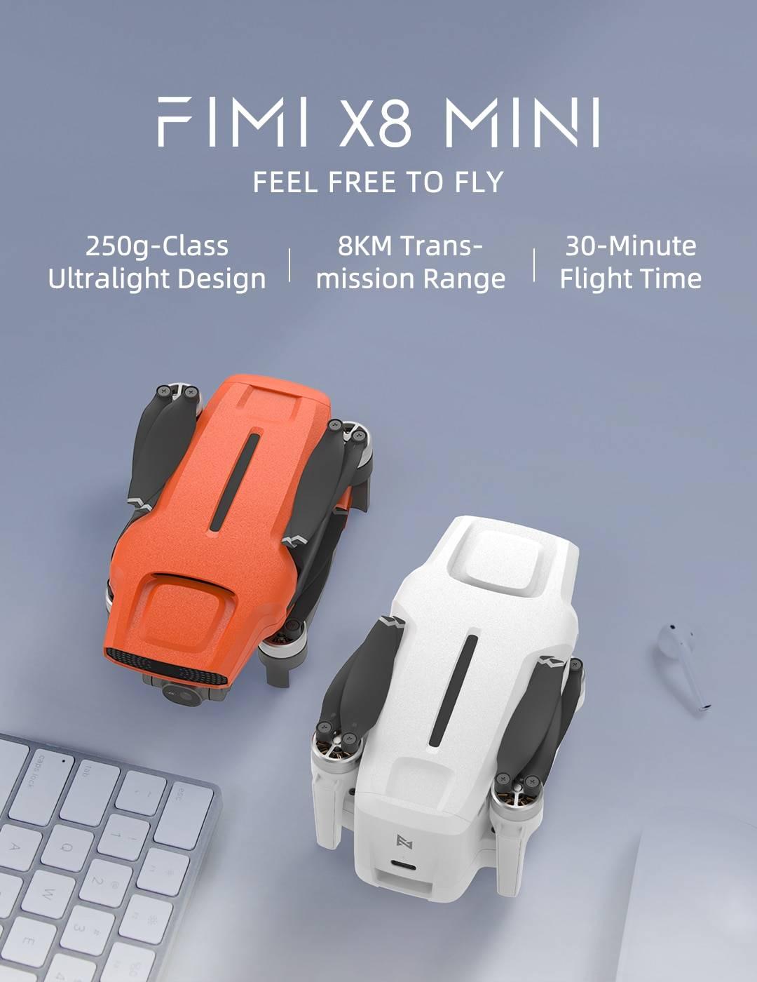 Professional FIMI X8 Mini 4K Camera Drone