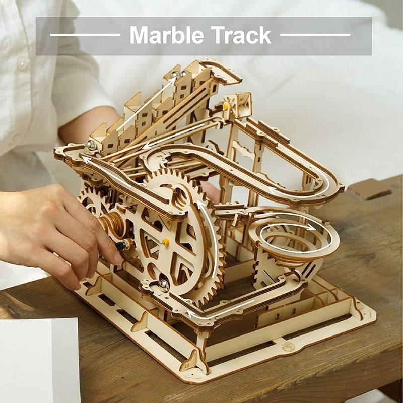 Marble Parkour 3D Wooden Puzzle Kits Toy