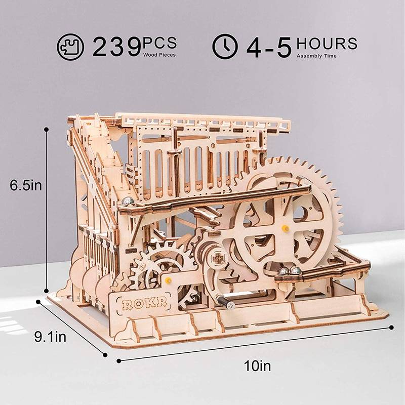 Marble Squad 3D Wooden Puzzle Kits Toy